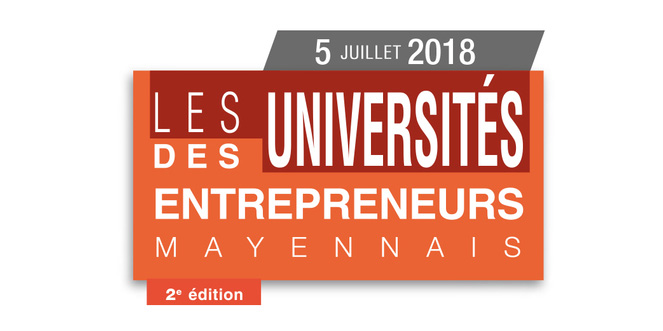 Logo des Université des entrepreneurs Mayennais, 2ème édition